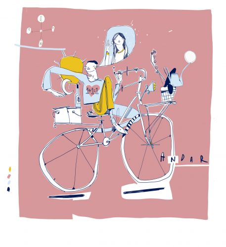 An Exhibition Devoted to Urban Cycling