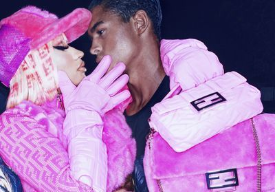 L'Instant Mode:  la collection capsule très rose de Nicki Minaj et Fendi