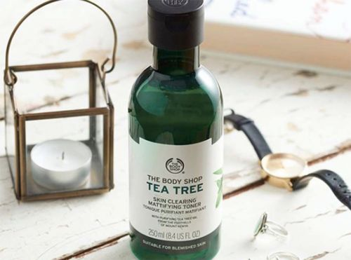 "Beauty it:  Le nettoyant purifiant visage ""Tea Tree"" signé The Body Shop"