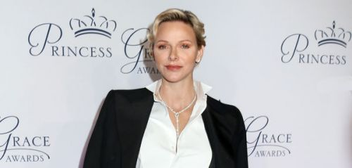 PHOTOS. Charlène de Monaco chic et sobre pour le Princess Grace Gala Awards