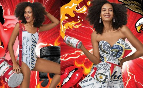 Moschino lance une nouvelle collaboration avec Budweiser