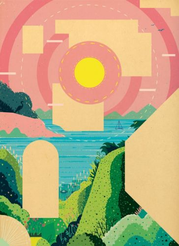 Geometric And Aesthetic Landscapes by Mike Ellis
