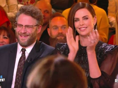 TPMP:  Cyril Hanouna remis en place par Charlize Theron !