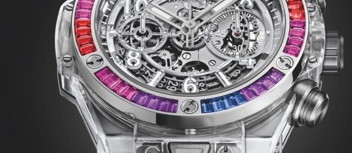 Hublot en mode ultra violet