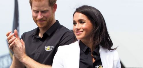 PHOTOS. Meghan Markle donne le coup d'envoi des Invictus Games 2018 au côté du prince Harry