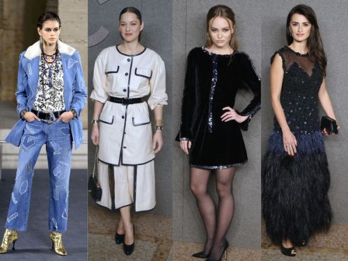 PHOTOS. Kaia Gerber, Marion Cotillard, Lily-Rose Depp. les people au défilé Chanel