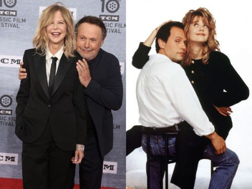 "PHOTOS. Meg Ryan et Billy Cristal réunis pour les 30 ans de ""Quand Harry rencontre Sally"""