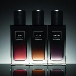Yves Saint Laurent Cuir, Vinyle & Velours ~ new fragrances