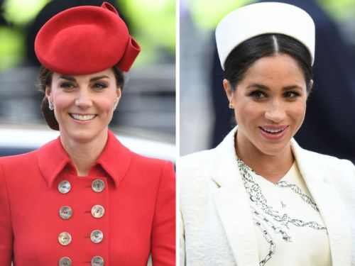 PHOTOS. Kate Middleton et Meghan Markle rivalisent de beauté à Westminster pour la journée du Commonwealth