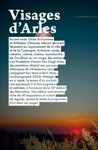 Portraits - Les Arlesiens  City Guide Arles 2019