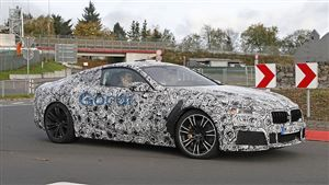 Scoop: l'habitacle de la BMW M8 immortalisé