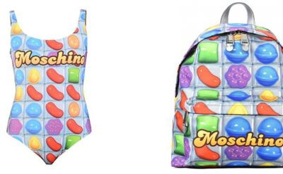 Collaboration explosive Moschino x Candy Crush