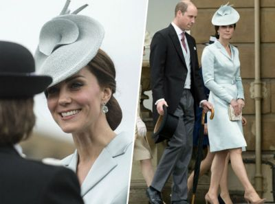 Public Royalty:  Kate Middleton la joue 'Reine des Neiges' à la garden party de Buckingham !