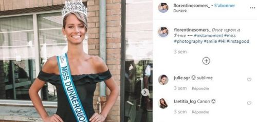 PHOTOS. Miss France 2020:  qui est Florentine Somers, élue Miss Nord-Pas-de-Calais 2019 ?