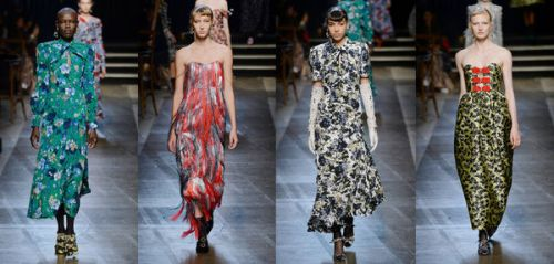 Fashion Week de Londres : le show royal d'Erdem en 10 looks