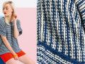 Le pull tube rayures pour femme