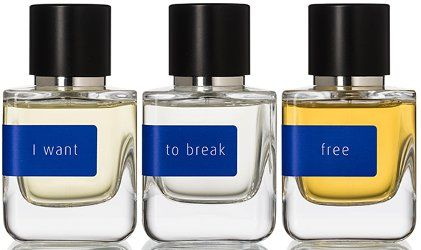 Mark Buxton Perfumes Freedom collection ~ new fragrances