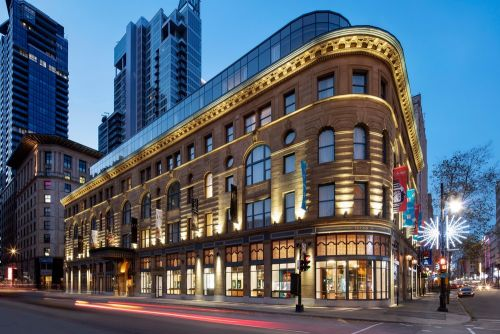 Birks Hotel Restored in Montreal Downtown