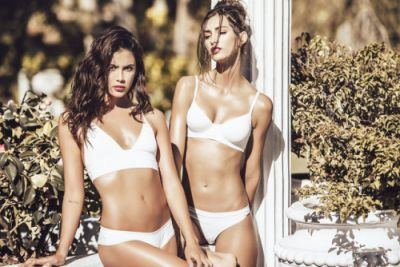 The Piel collection in ivory is making it's debut this