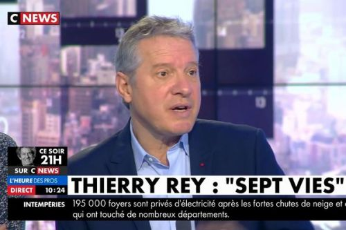 VIDEO. Thierry Rey évoque son combat face à une tumeur