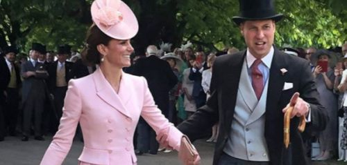 PHOTO. Kate Middleton et le prince William se sont-ils offert une petite danse à la Garden party d'Elizabeth II ?