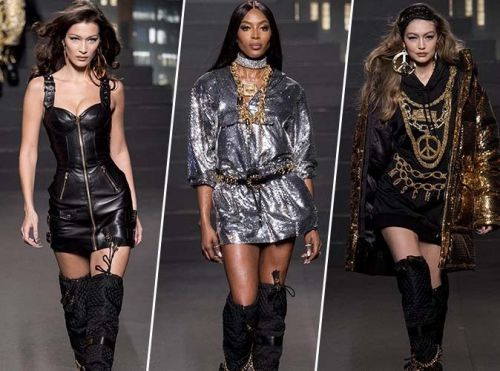 HM x MOSCHINO:  la collection présentée hier à New York lors d'un show grandiose