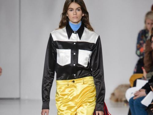 Kaia Gerber imagine une collection capsule pour Karl Lagerfeld