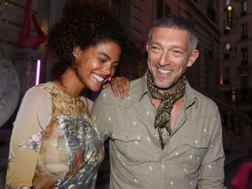 PHOTOS. Tina Kunakey et Vincent Cassel, les inséparables de la Fashion Week