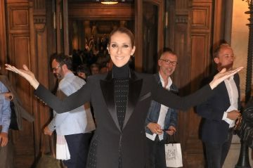 Céline Dion:  une fashion addict à Paris