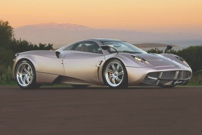 Une Pagani Huayra Roadster encore plus puissante