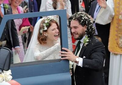 Game of Thrones:  Kit Harington et Rose Leslie se sont mariés !