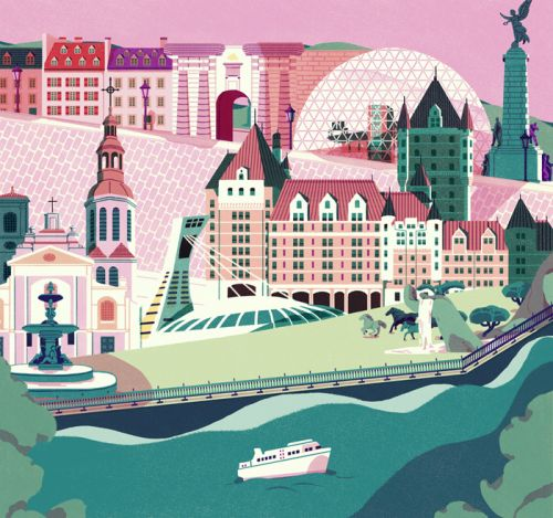 Lively and Imaginary Worlds in Illustration