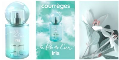 Courreges La Fille de L'Air Iris ~ new perfume