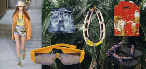 "Shopping:  9 pièces pour adopter l'allure ""hawaiian geek"""