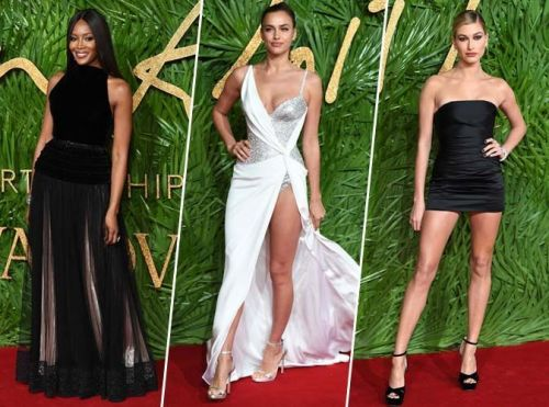 Naomi Campbell, Irina Shayk, Hailey Baldwin. Tous les plus beaux looks des Fashion Awards