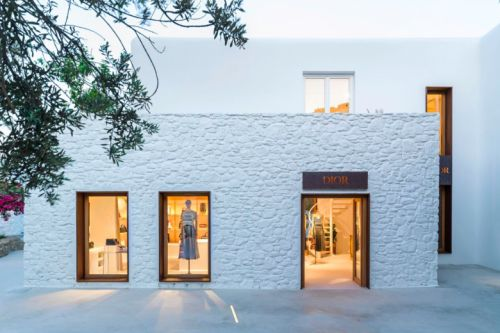 Dior installe un pop-up store à Mykonos