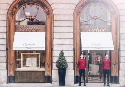 ELLEFashionSpot:  la nouvelle boutique Cartier 23 Place Vendôme