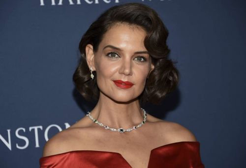 Le beauty-look très Marylin de Katie Holmes