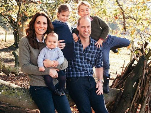 PHOTOS. L'adorable photo de Noël Kate Middleton, du prince William et de leurs enfants