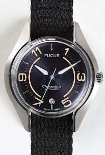 La Montre du jour: Fugue Chronostase Vintage Navy