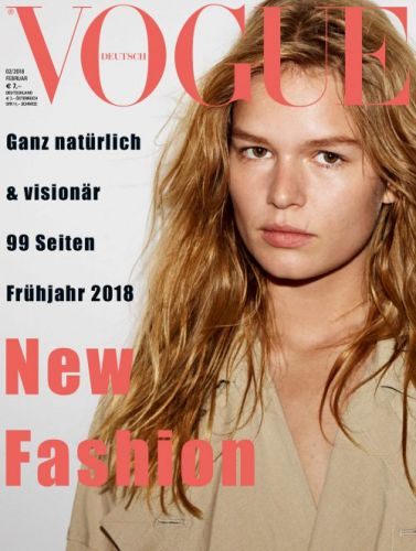 Vogue Germany's cover girls Anna, Raquel, Grace and Faretta face off