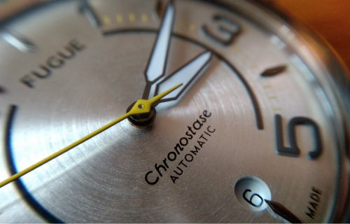 Montre Fugue Chronostase:  sacrée carrure !