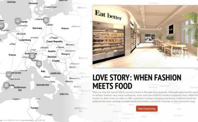 Love Story:  la rencontre de la food et de la mode