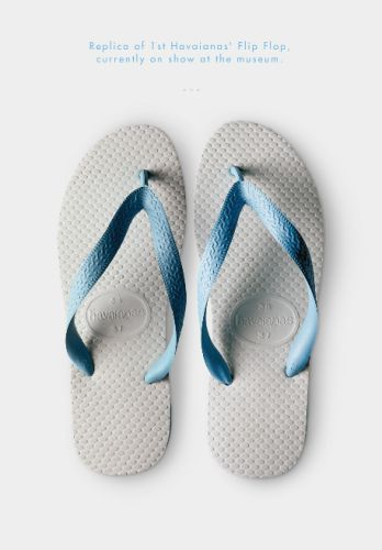 HAVAIANAS au sein de l'exposition « Items:  Is Fashion Modern ? » au MOMA de New-York