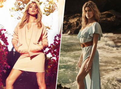 Hailey Baldwin:  California Girl sexy pour la nouvelle campagne Guess !