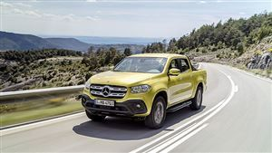 Mercedes-Benz Classe X: pick-up étoilé