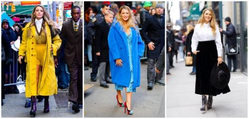 Photos : le marathon mode de Blake Lively en promo à New York