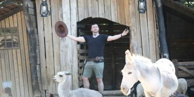 PORTRAIT. De Youtube à un ranch de Grimaud. Anthony Joubert fait de l'humour multi-terrain