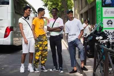 On The Street: PFW: Men's S/S 18