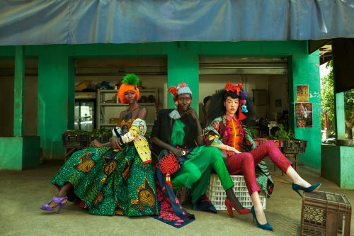 Color, Culture and Fashion in South Africa's China Town